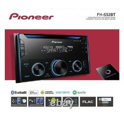 NEW Pioneer FH-S52BT Double 2 DIN CD MP3 Digital Media Player Bluetooth MIXTRAX