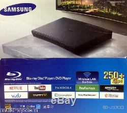 NEW Samsung BD-J5700 Wi-Fi Multi Zone All Region Free Blu-Ray DVD Player
