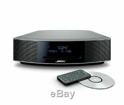 New Bose Wave Music System IV with Remote, CD Player and AM/FM Radio Silver NEW