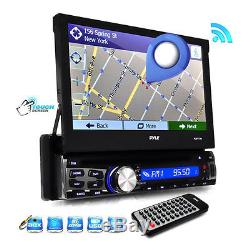 New PLBT73G 7 TouchScreen GPS Navigation CD MP3 SD/USB Radio Player & Bluetooth