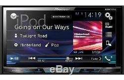 New Pioneer Avh-x4800bs Double 2 Din Dvd/cd Player 7 Bluetooth Spotify Pandora