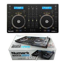Numark MixDeck Express Premium DJ Controller with Dual CD Player & USB Playback