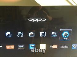 OPPO BDP-105D BluRay DVD Compact Disc SACD Player- Dolby TrueHD- DTS-HD Darbee