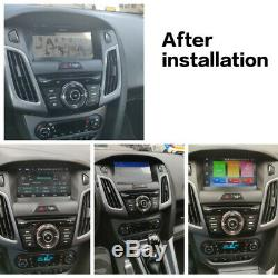 One din Android 9.0 Car GPS Navigation CD player for Ford Focus III 2013-2015