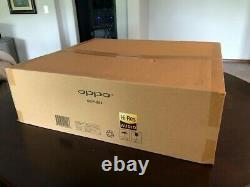 Oppo UDP-203 4K Blu-ray Player Brand New Sealed Box