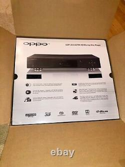 Oppo UDP-203 Blu-ray Player Used Mint Condition All Original Packaging