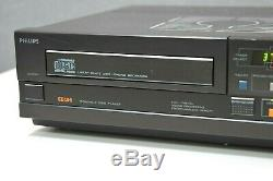 PHILIPS CD-104 KR Laboratory Red Level Compact Disc-Player Top Zustand