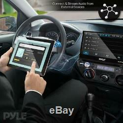 PYLE PLTS78DUB 7 TOUCH SCREEN CD/DVD/MP3 Car Player withUSB SD AUX Receiver