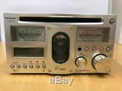 Panasonic CQ-TX5500D vacuum tube CD player USED operation confirmed excellent