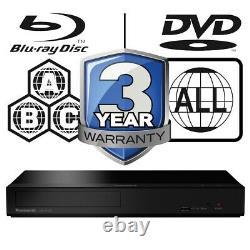 Panasonic DP-UB150EB-K Multi Region All Zone Code Free 4K UHD Blu-ray Player
