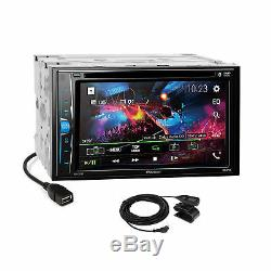 Pioneer 2018 Bluetooth Stereo 2Din Dash Kit Harness for 1999-02 GM Trucks SUV's