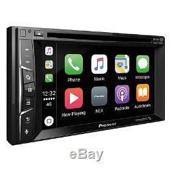 Pioneer AVH-1300NEX Double 2 DIN DVD/CD Player Bluetooth Mirrors iPhone CarPlay