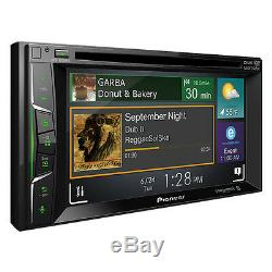 Pioneer AVH-1300NEX RB Double DIN DVD/CD Player Bluetooth Mirrors iPhone CarPlay