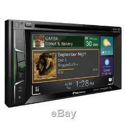Pioneer AVH-1400NEX RB Double 2 DIN DVD/CD Player Bluetooth iPhone CarPlay