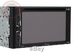 Pioneer AVH-211EX Double DIN DVD CD Player Radio Bluetooth Iphone USB USED