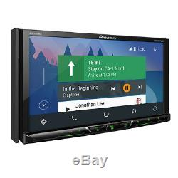 Pioneer AVH-2440NEX RB Double 2 DIN DVD/CD Player Bluetooth Android Auto CarPlay