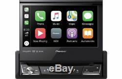 Pioneer AVH-3500NEX 1 DIN Car Audio DVD/CD/USB Player Flip Up Bluetooth CarPlay