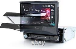 Pioneer AVH-3500NEX/B 1 DIN DVD/CD Player Flip Up Bluetooth Android Auto CarPlay