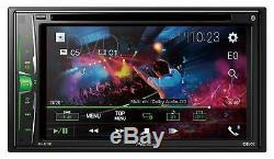 Pioneer AVH-A210BT Doppel-DIN CD/DVD/MP3-Autoradio Touchscreen Bluetooth USB iPo