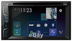 Pioneer AVH-A3100DAB Doppel-DIN CD/DVD/MP3-Autoradio Touchscreen DAB Bluetooth U