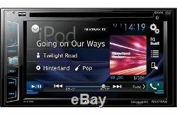 Pioneer AVH-X2800BS RB DVD/MP3/CD Player 6.2 LCD Bluetooth GPS & SiriusXM Ready