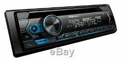 Pioneer DEH-S4200BT 1-DIN CD Player Bluetooth + 4x JVC CS-J620 6.5 300W Speaker
