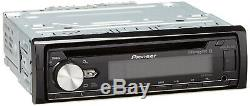 Pioneer DEH-S6100BS 1-DIN CD Player Receiver Bluetooth Car Radio USB Aux Stereo