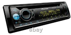 Pioneer DEH-S6200BS Bluetooth Car Stereo CD Receiver Player with Aux USB