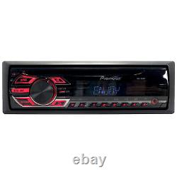 Pioneer DEH Single DIN AM FM AUX Car Stereo Radio CD Player Receiver System