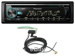 Pioneer DEH-X7800DAB CD/MP3-Autoradio DAB USB iPod AUX-IN inkl. DAB-Antenne