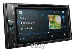 Pioneer Double 2 Din AVH-120BT RB DVD/MP3/CD Player 6.2 Touchscreen Bluetooth