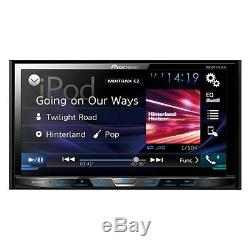 Pioneer Double 2 Din AVH-X491BHS RB DVD/CD Player 7 Bluetooth HD Radio AUX USB