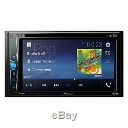 Pioneer Double Din AVH-200EX CD/MP3/DVD Player 6.2 Touchscreen Bluetooth