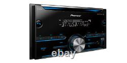 Pioneer FH-S500BT RB Double DIN CD MP3 Digital Media Player Bluetooth MIXTRAX