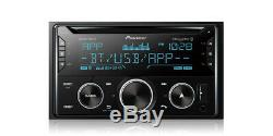 Pioneer FH-S720BS Double 2 DIN CD MP3 Player Bluetooth AUX USB SiriusXM MIXTRAX