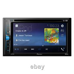 Pioneer Multimedia Receiver DVD/MP3/CD Player 6.2 Double DIN Rear View Camera