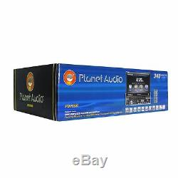 Planet Audio P9759B 7 In-Dash Monitor DVD/CD Player Receiver WithBluetooth/USB/SD