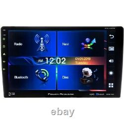 Power Acoustik 2 Din 10.6 GPS Navigation DVD/CD Player Bluetooth Android Link