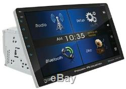 Power Acoustik PD-1060HB 2 Din 10.6 DVD/CD Player Bluetooth Android Phone Link