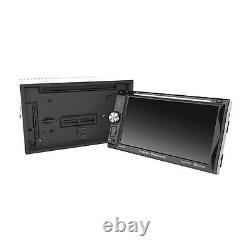 Power Acoustik PD-625B 2 DIN Detachable Face CD/DVD/MP3 Player Bluetooth AUX USB