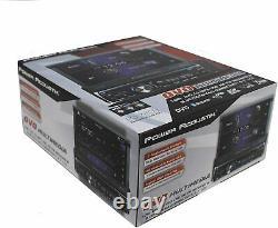 Power Acoustik PD-720B 1 DIN FLIP UP CD/DVD/MP3 Player 7 Bluetooth SD USB Input