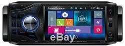 Power Acoustik Pd-454b 1 Single Din Car Dvd/cd/mp3 Player 4.5 Monitor Bluetooth