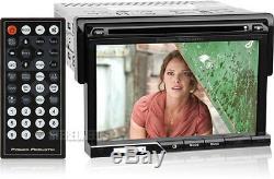Power Acoustik Pd-710 Car 7 Touchscreen Monitor Cd/dvd/usb Player 1 Single Din