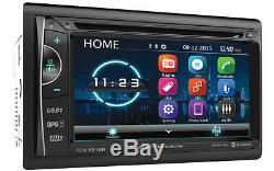 Power Acoustik Pdn-621hb 2 Double Din Cd/dvd Player 6.2 Navigation Gps Bluetooth