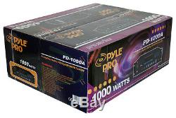 Pro Pyle 1000w Watt Home Theater Stereo Receiver Amp Amplifier DVD CD Mp3 Player