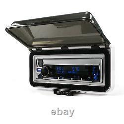 Pyle Marine CD Player Receiver, Antenna, Radio Cover, 4x Marine 6.5 Speakers