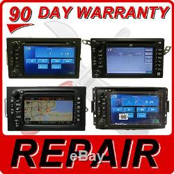 REPAIR SERVICE GMC Chevy GPS Navigation Radio CD DVD Rom Player Screen Factory
