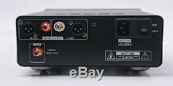 RFTLYS CD-1 Audiophile CD Player Destop with Headphone Amplifier XLR USB Black
