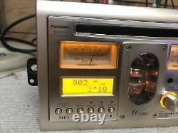 Rare panasonic CQ tx5500W CD Player Car radio vacuum tube AUX Audio