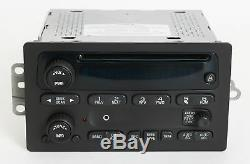 Remanufacture & Aux Mod SERVICE for 2003-05 Chevy GMC Truck Radio AMFM CD Player